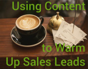 Content is quickly becoming the weapon of choice for landing sales for both B2B and B2C customers. According to an article from the Huffington Post, consumers have moved past the phase of reaching out to specific businesses via phone to find the right solutions to their problems.