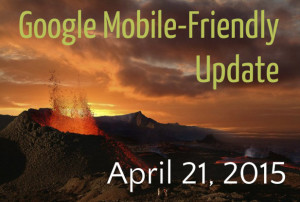If your site does not yet utilize responsive design, then the Google mobile-friendly update could have a major impact on your site's rankings.