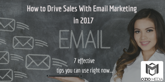 drive sales with email marketing