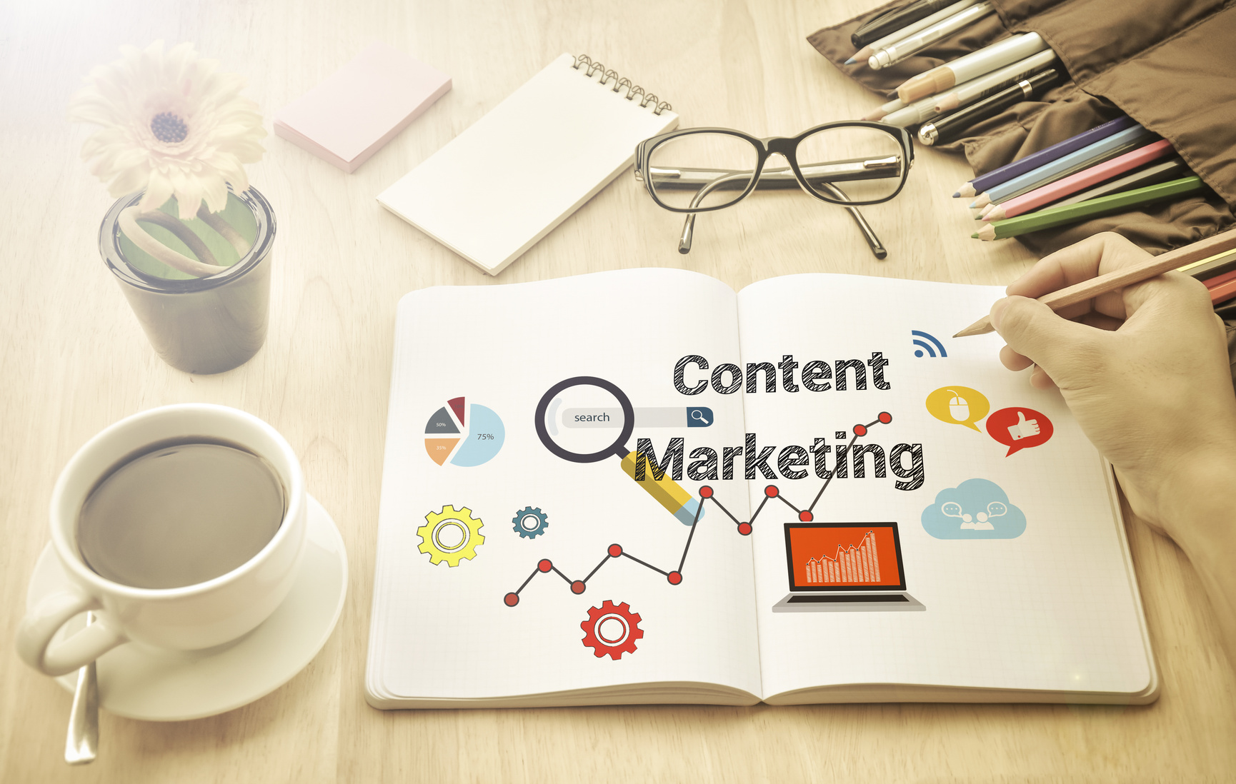 You start your day with coffee, yoga, meditation and other rituals that are essential to your well being. But what about your content marketing?  Here are 7 daily rituals to follow for better content marketing results. 1. Check Your Content Calendar Effective content marketers include consistency into their daily rituals. You need to… Continue Reading…